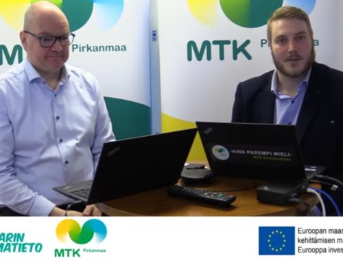MTK Pirkanmaan kotieläintilojen koronainfo 2.4.2020