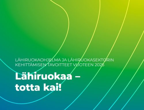 Lähiruokaohjelma 2021-25