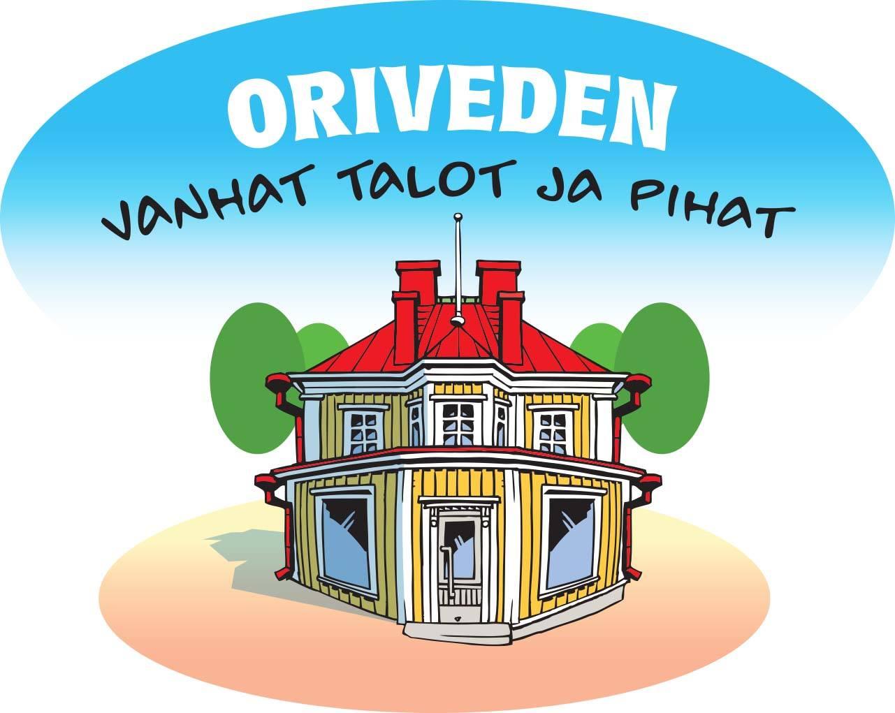 vanhat talot ja pihat -logo