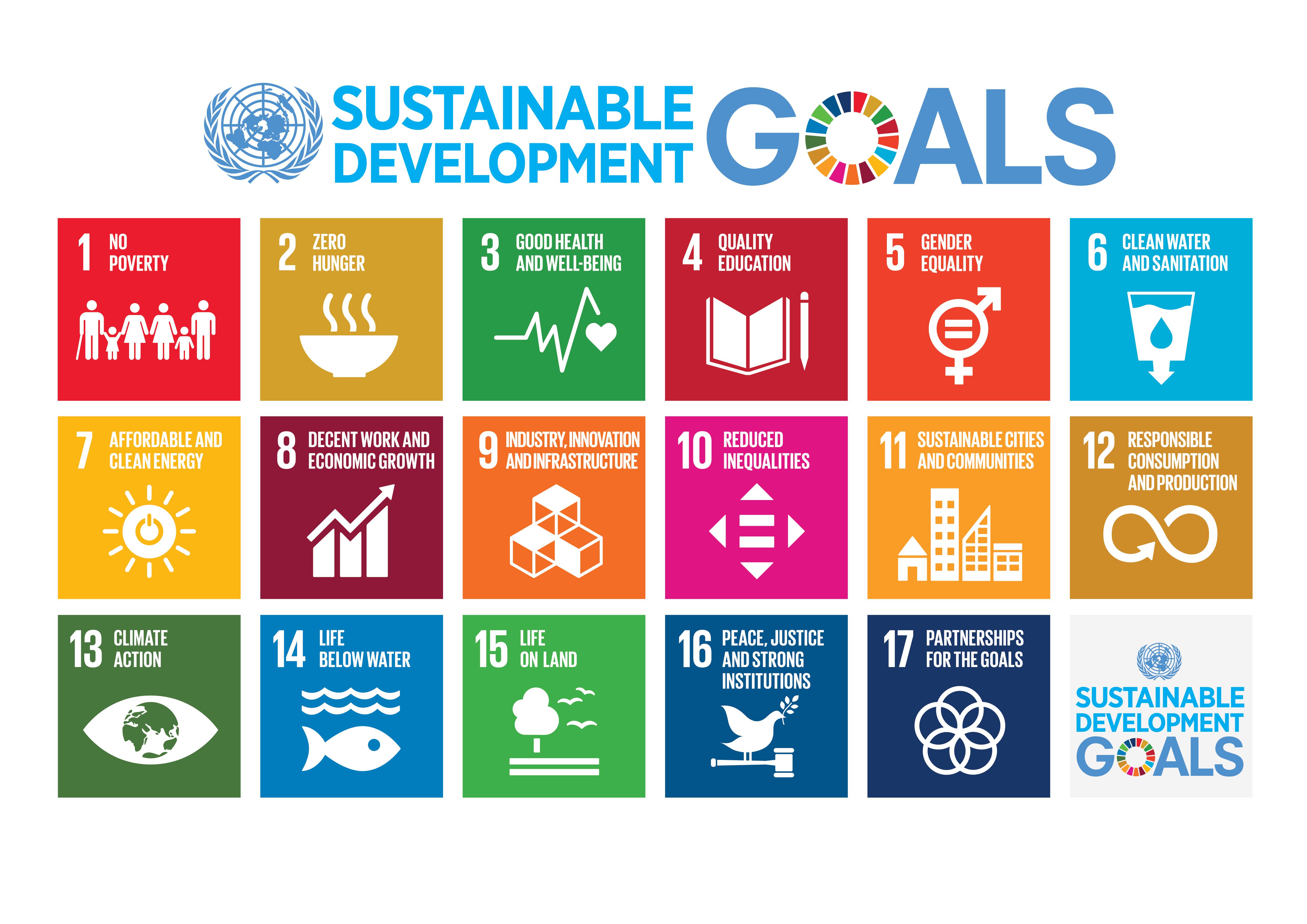 YK:n kestävän kehityksen tavoitteet