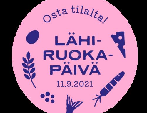 Lähiruokapäivä järjestetään lauantaina 11.9.2021
