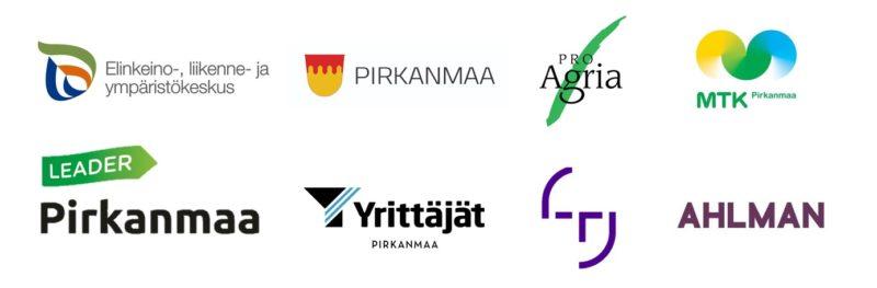 Tulevaisuusparlamentin logot ja organisaatiot